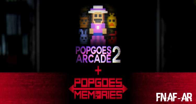 POPGOES Arcade 2 + POPGOES Memories