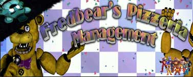 Fredbear's Pizzeria Management Download For Free
