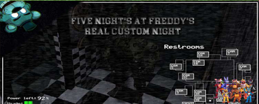 Five Night's at Freddy's: Real Custom Night